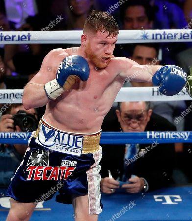 Editorial photo of Alvarez Chavez Jr Boxing, Las Vegas, USA - 06 May 2017