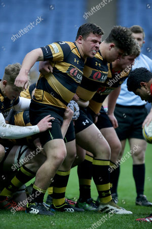 Editorial image of Wasps Under 17s v Saracens Underd 17s,  Rugby Union, Ricoh Arena, Coventry, UK - 06/05/2017