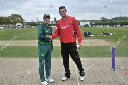 Editorial image of Nottinghamshire County Cricket Club v Leicestershire County Cricket Club, Royal London 1 Day Cup - 07 May 2017