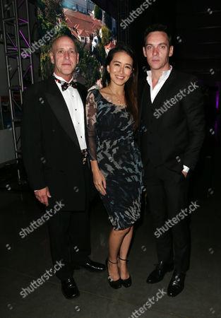 Stock Photo of Mark Walbert, Mara Lane, Jonathan Rhys Meyers