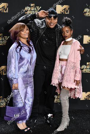 Simone Smith, LL Cool J and Nina Simone Smith