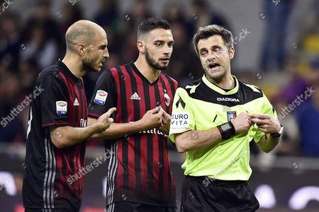 Editorial photo of AC Milan vs AS Roma, Italy - 07 May 2017