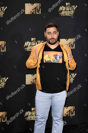 Editorial picture of Arrivals - MTV Movie and TV Awards 2017, Los Angeles, USA - 07 May 2017