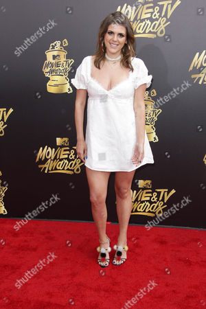 Editorial image of MTV Movie & TV Awards, Arrivals, Los Angeles, USA - 07 May 2017