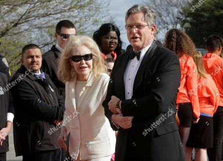 Joan Kennedy, Ted Kennedy, Jr Joan Kennedy, left, and her son Connecticut state Senator Ted Kennedy, Jr., son of Edward M. Kennedy, right, arrive at the John F. Kennedy Presidential Library and Museum before the 2017 Profile in Courage award ceremonies, in Boston. Former President Barack Obama is to be presented with the award Sunday
