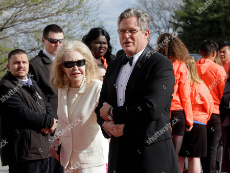 Joan Kennedy, Ted Kennedy, Jr Joan Kennedy, left, and her son Connecticut state Senator Ted Kennedy, Jr., son of Edward M. Kennedy, right, arrive at the John F. Kennedy Presidential Library and Museum before the 2017 Profile in Courage award ceremonies, in Boston. Former President Barack Obama was presented with the award Sunday