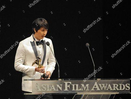 Editorial image of 3rd Annual Asian Film Awards in Hong Kong, China - 24 Mar 2009
