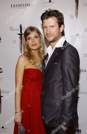 Stock Image of Tess Panzer and Adam Mason