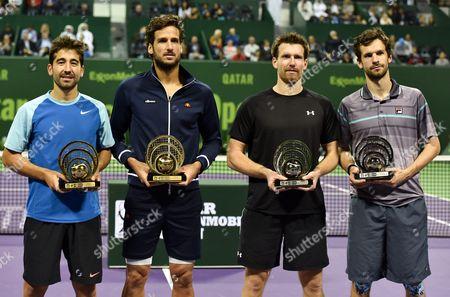 Editorial photo of Qatar Tennis Atp - Jan 2016