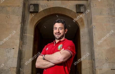 British and Irish Lions Player Administration Day, Syon House, London 8/5/2017. Greg Laidlaw