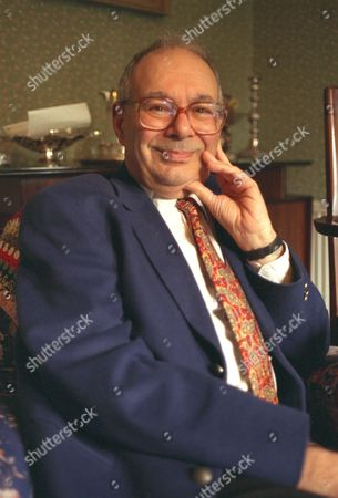 Pics Show Rabbi Lionel Blue At Home In Finchley.