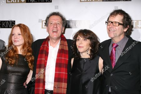 Lauren Ambrose, Geoffrey Rush, Andrea Martin, Neil Armfield at the after party