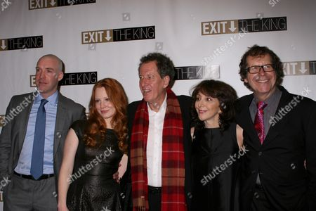 Editorial photo of 'Exit the King' Opening Night on Broadway at the Ethel Barrymore Theatre in New York, America - 26 Mar 2009