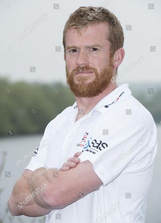 GB rowing team Senior sports scientist Mark Homer pictured at their training location at Caversham Lakes.