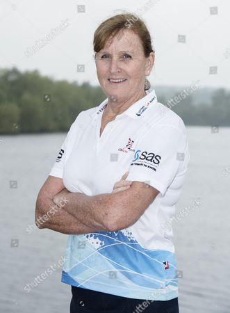 GB rowing team Chief medical officer Ann Redgrave pictured at their training location at Caversham Lakes.