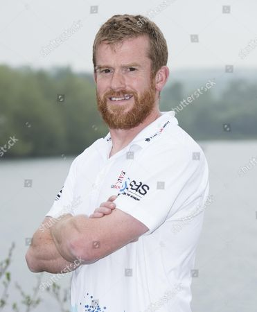 Stock Image of GB rowing team Senior sports scientist Mark Homer pictured at their training location at Caversham Lakes.