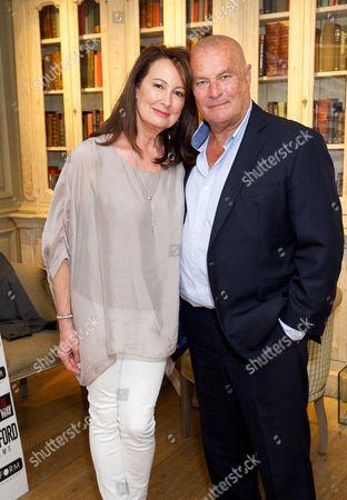 Anita Ellison and Chris Ellison