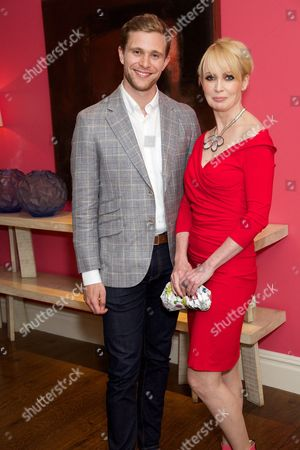Stock Photo of Jared Garfield and Lysette Anthony