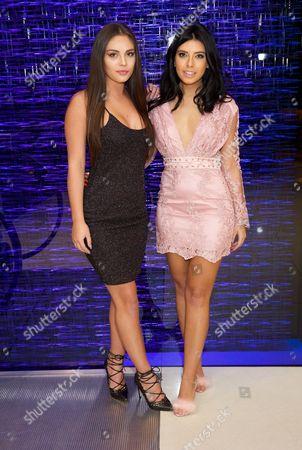 Stock Photo of Emma Woodhams & Carla De La Hoyde