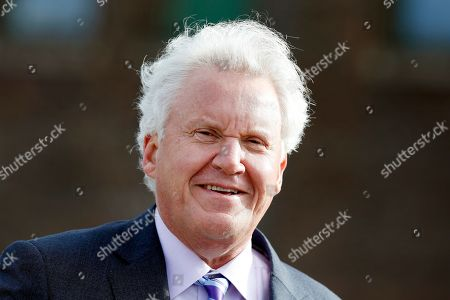 General Electric CEO Jeffrey R Immelt attends a ground-breaking ceremony for GE's new headquarters, in Boston