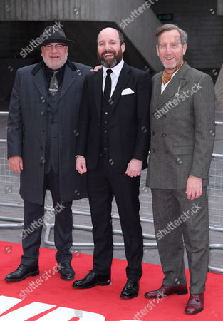 Ray Winstone, Michael Smiley and Johnny Harris