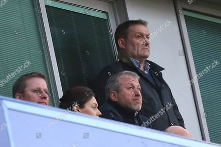 Chelsea owner Roman Abramovich during the Premier League match between Chelsea and Middlesbrough played at Stamford Bridge, London on 8th May 2017