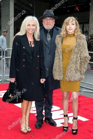 Elaine Winstone, Ray Winstone and Ellie Rae Winstone