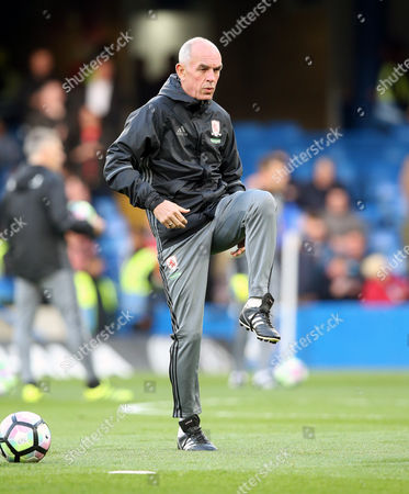 Former Scotland striker Joe Jordan - Middlesbrough Coach