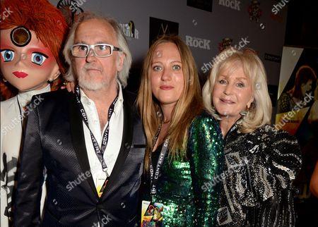 Stock Image of Jon Brewer, Tallulah Brewer and Liz Brewer