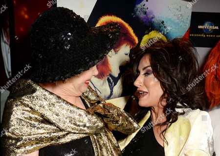 Angie Bowie and Nancy Dell'Olio