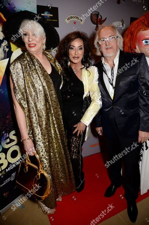Angie Bowie, Nancy Dell'Olio and Jon Brewer