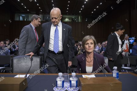 Sally Yates and James Clapper