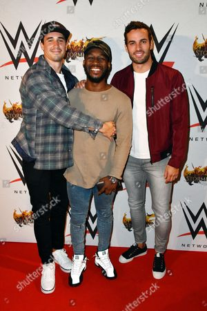 Josh JP Patterson, Akin Solanke-Caulker, James Dunmore from Made in Chelsea