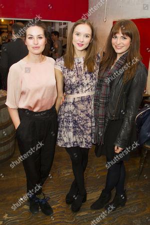 Maimie McCoy, Alexandra Dowling (Beth) and Tamla Kari