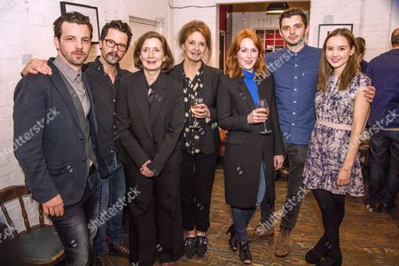 Gethin Anthony, Robert Lonsdale, Nancy crane, Kate Fahy, Laura Rogers, Michael C Fox and Alexandra Dowling (then cast)