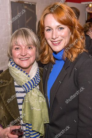 Laura Rogers (R) plays Sally