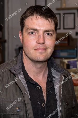 Tom Burke came to watch his partner Alexandra Dowling (plays Bethh)