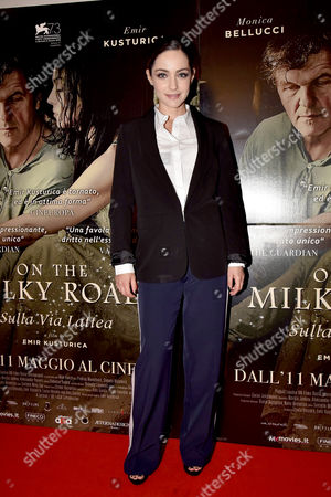 Editorial picture of 'On The Milky Road' film premiere, Rome, Italy - 08 May 2017