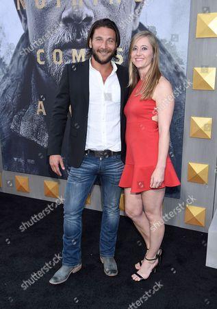 Zach McGowan and Emily Johnson