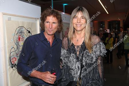 Tanja Valerien-Glowacz mit Ehemann Stefan Glowacz,