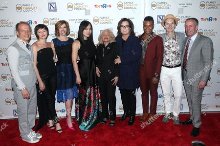Bruce Cohen, Emily Skeggs, Maddie Corman, Ivory Aquino, Edie Windsor, Rosie O'Donnell, Justin Sams and Denis O'Hare