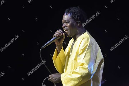 Editorial image of Baaba Maal in concert, Le Zenith, Paris, France - 06 May 2017