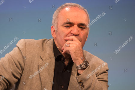Garry Kasparov, former chess world champion and Russian member of the opposition