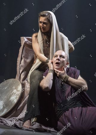 Isabella Nefar as Salome, Paul Chahidi as Herod,