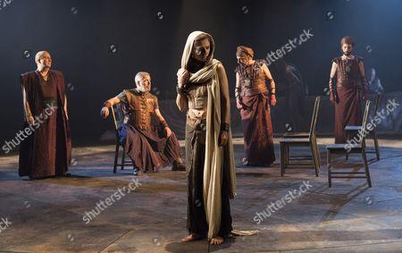 Paul Chahidi as Herod, Lloyd Hutchinson as Pilate, Isabella Nefar as Salome, Raad Rawi as Annas, Philip Arditti as Caiaphus