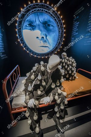 Editorial photo of 'Pink Floyd: Their Mortal Remains' exhibition photocall, V&A Museum, London, UK - 09 May 2017