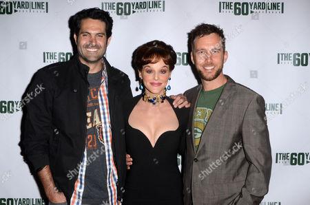 Nick Greco, Dana Daurey, Ryan Churchill