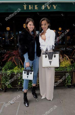 Stephanie Peers and Amal Fashanu