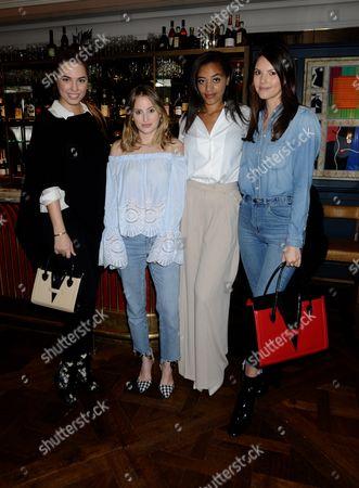 Amber Le Bon, Amal Fashanu, Stephanie Peers