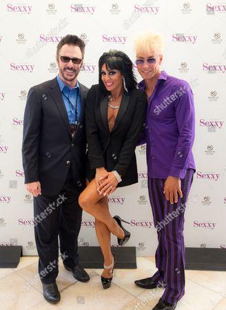 Lance Burton, Jennifer Romasd and Murray SawChuck